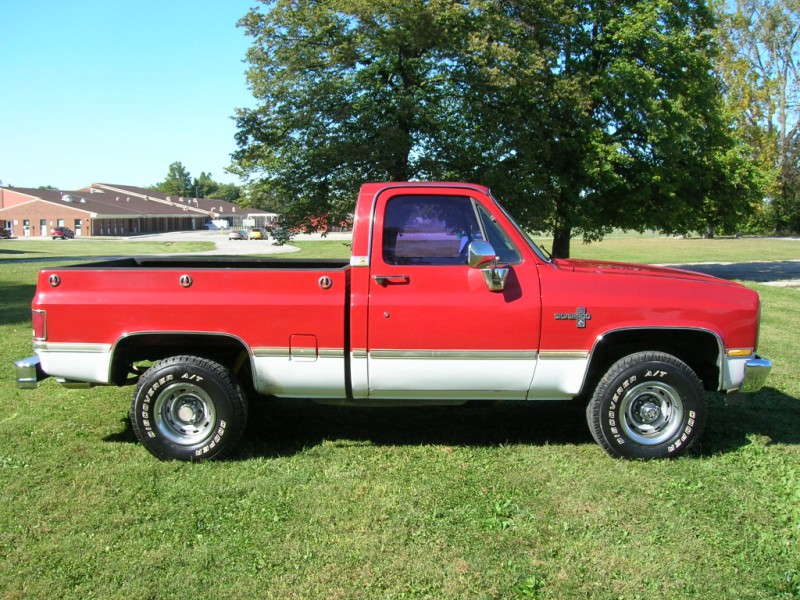 86 chevy silverado short bed
